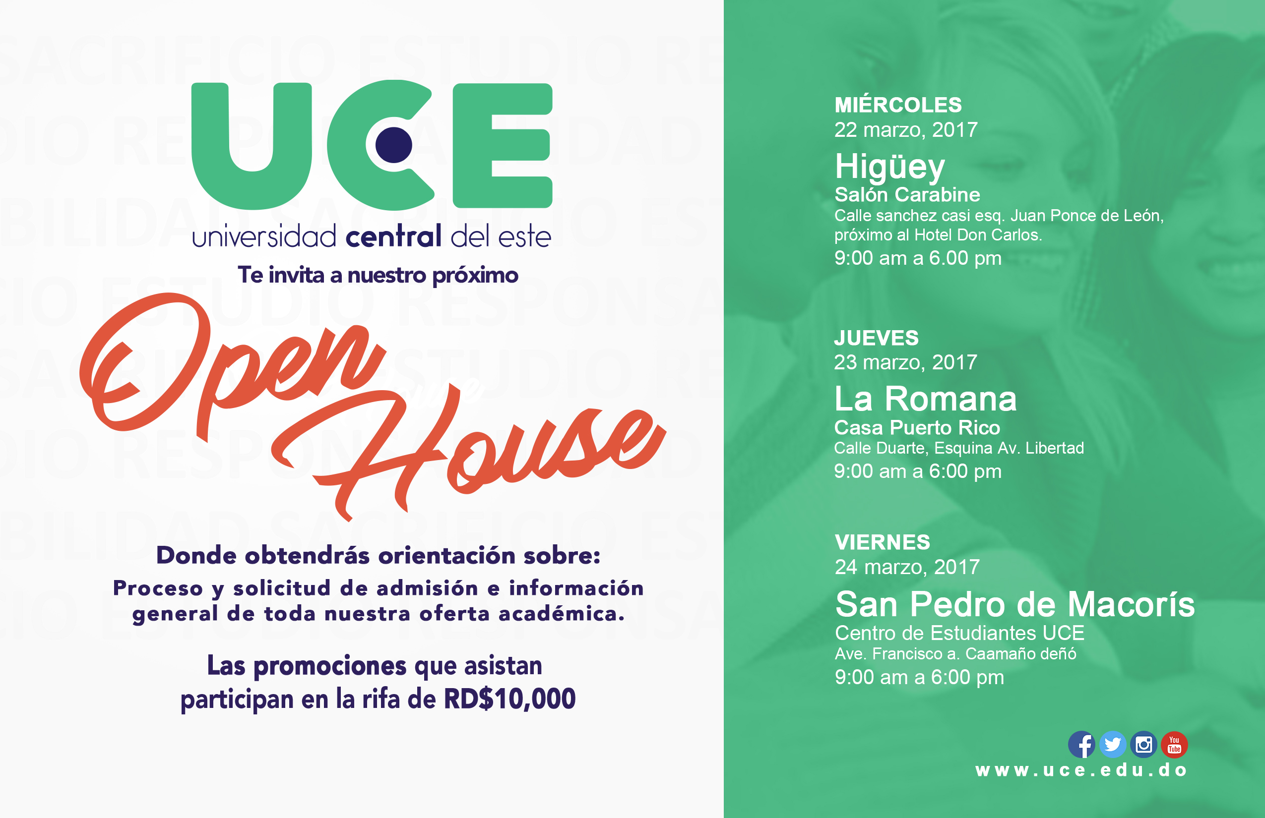 Open House UCE 2017