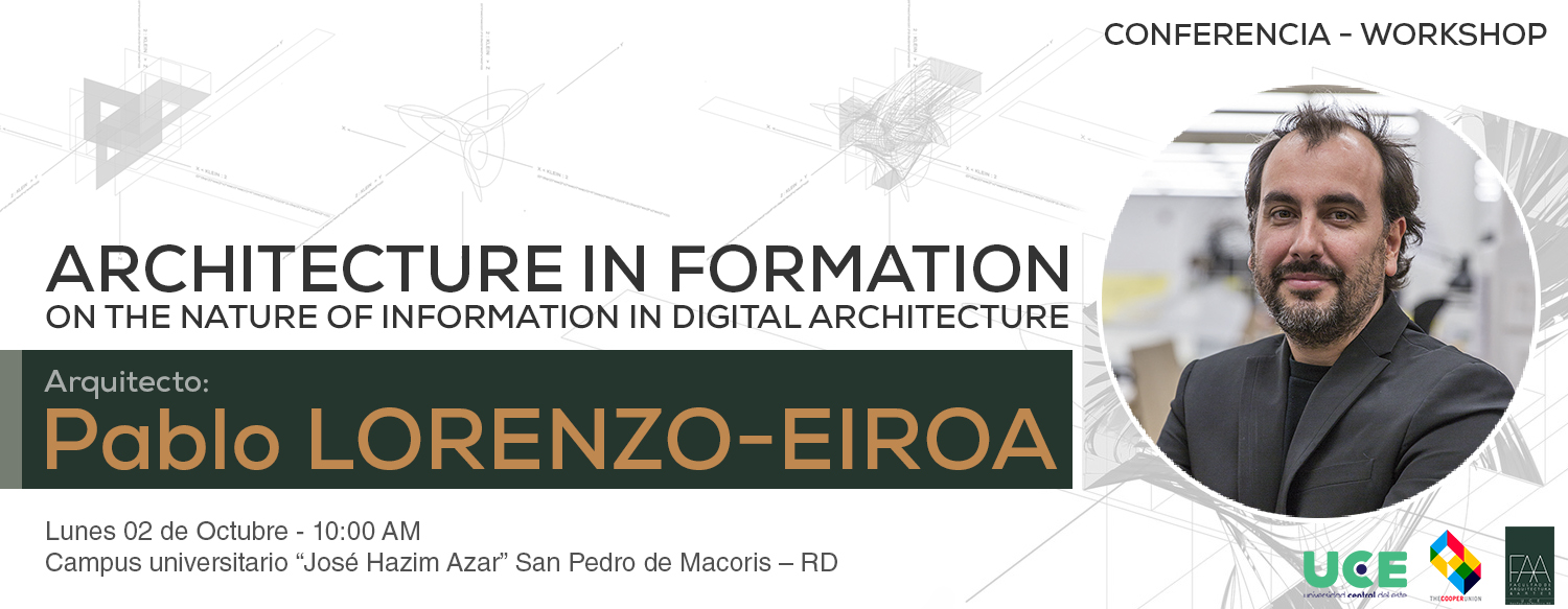 Architecture In Formation On The Nature Of Information In Digital  Architecture